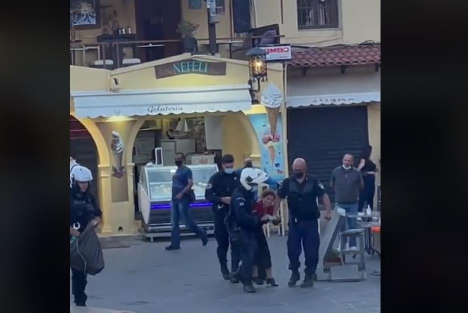 Ρόδος: Η ΕΛ.ΑΣ. συνέλαβε γυναίκα επειδή... τραγουδούσε   News2u