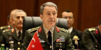 Τούρκος υπουργός Άμυνας
