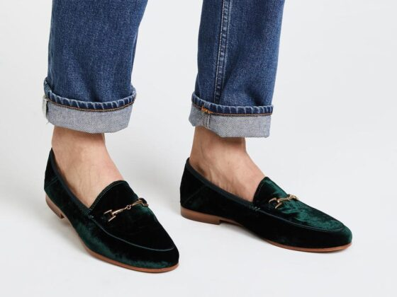 prasina loafers