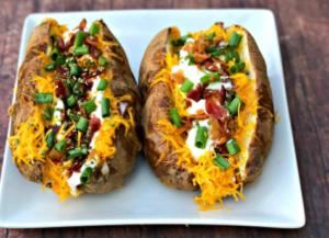 gemistes baked patates