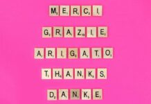 merci gracias thank you obrigado danke