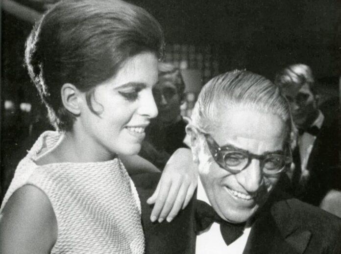 Χριστίνα Ωνάση με τον πατέρα της