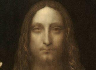 το πρόσωπο του Ιησού Χριστού στον πίνακα