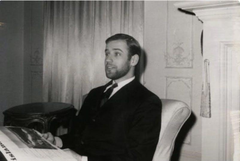 Ο Τζο Μπάιντεν σε νεαρή ηλικία