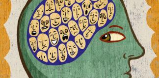 εγκέφαλος που απεικονίζει τη σχιζοφρένεια