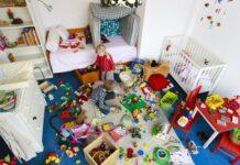 παιδικό δωμάτιο γεμάτο παιχνίδια
