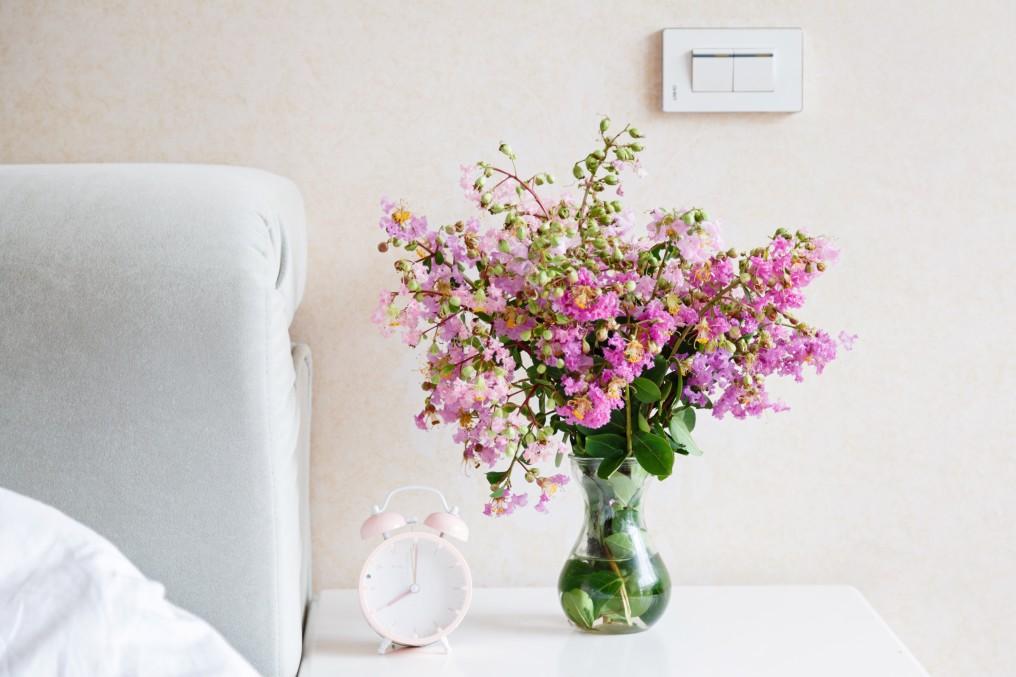 βάζο με λουλούδια όλο το χρόνο