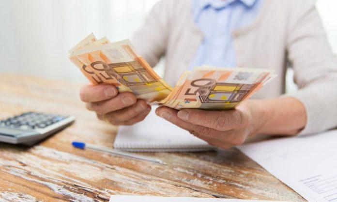 χαρτονομίσματα των πενήντα ευρώ