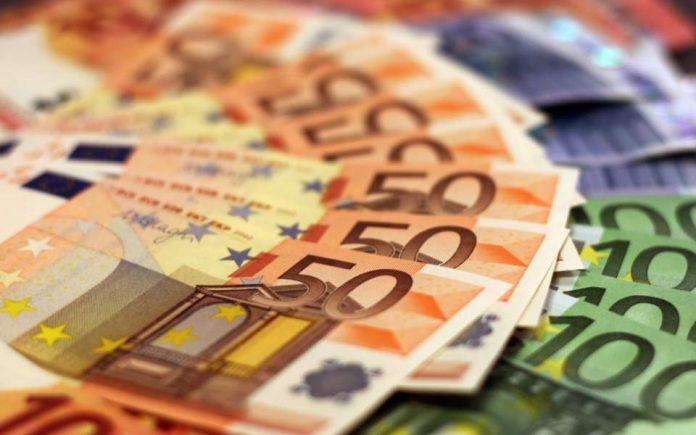 χαρτονομίσματα πενήντα ευρώ