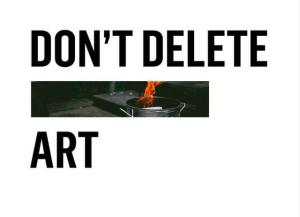Don't delete art