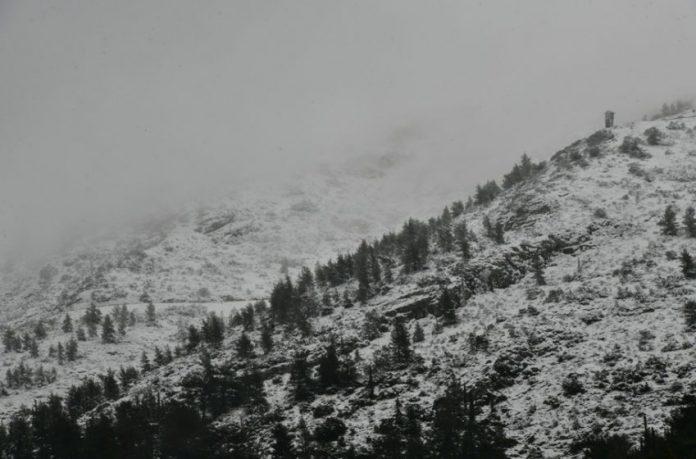 χιονισμένος Υμηττός
