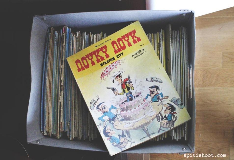 συλλογή Λιγνάδη κόμικ