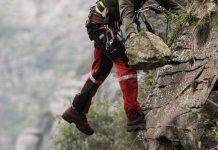 Ορειβάτης στην Πάρνηθα