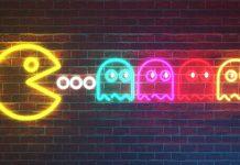 neon packman