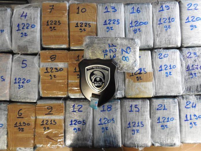 Κατασχέθηκε κοκαϊνη στο λιμάνι του Πειραιά