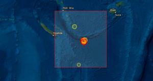 Σεισμός στο νότιο Ειρηνικό Ωκεανό