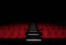 καθίσματα θεάτρου και ηθοποιοί