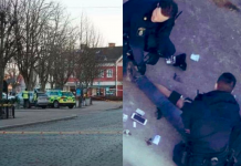 επίθεση με μαχαίρι στη Σουηδία