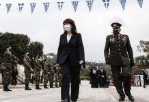 Η Κατερίνα Σακελλαροπούλου στη Ρόδο