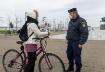 αστυνομία έλεγχος ποδηλάτης