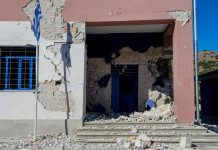 Υλικές ζημιές από τον σεισμό στην Ελασσόνα