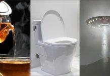 τσάι τουαλέτα διαστημόπλοιο